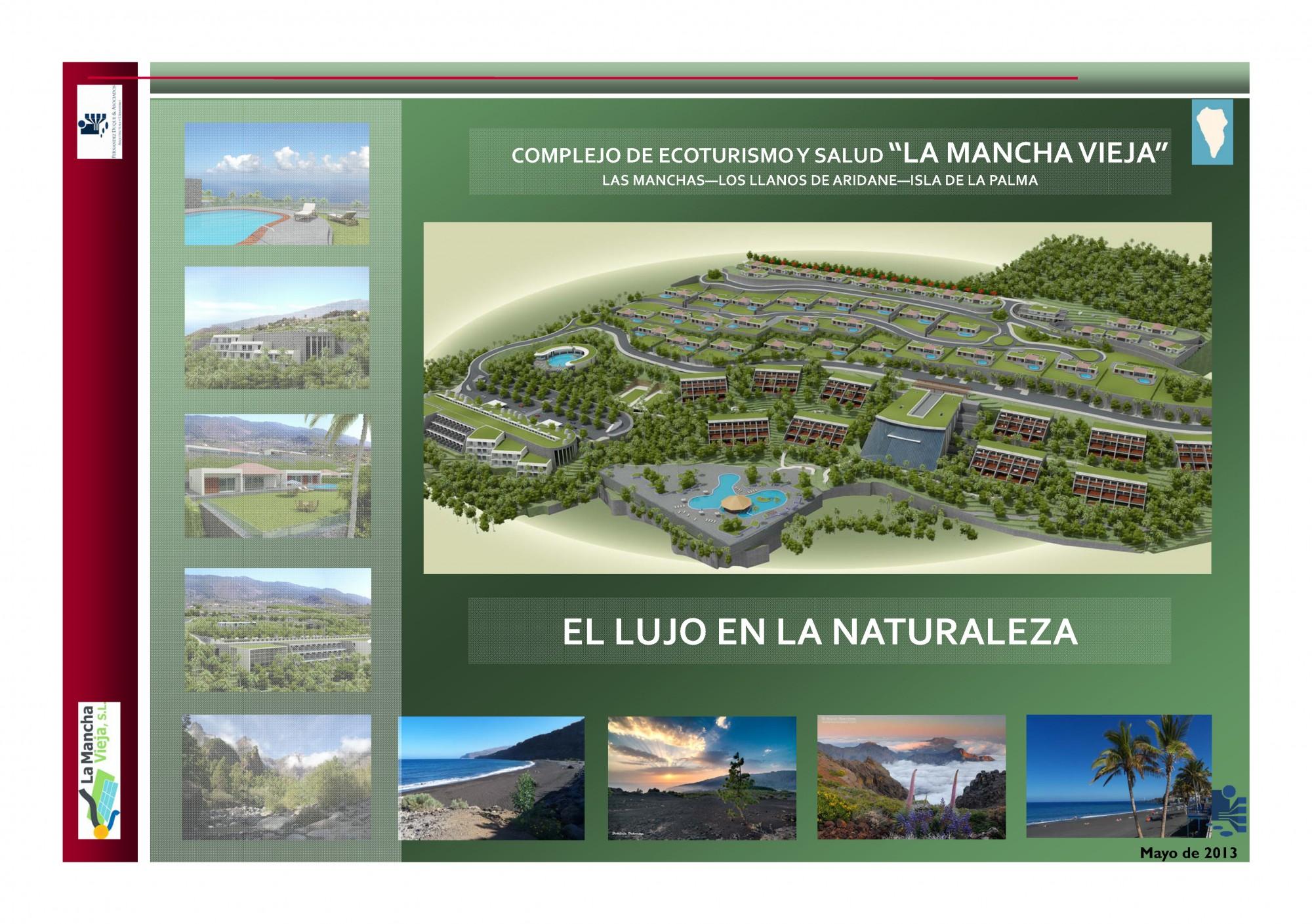 Dossier Complejo de Ecoturismo y Salud La Mancha Vieja (PAG. 1)